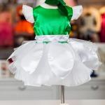 Rochita Ghiocel S 001 – alb / verde