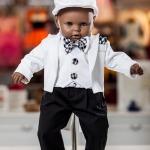 Costum Frac – alb / negru